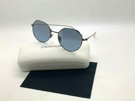 New Calvin Klein Sunglasses CK18111S 008 Gunmetal Titanium 51-18-140MM Case - $43.62