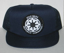 Star Wars Imperial Republic Commando Patch Baseball Hat / Cap NEW UNWORN - $18.37