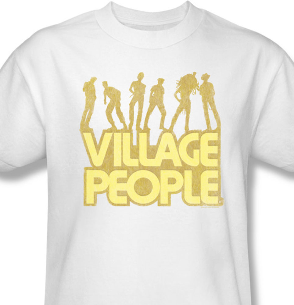 Village people american discoymca 70 s 80 s distressed for sale online 1 graphic tee vp102 at