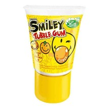 Lutti Bubble Color: CITRUS gum in a tube -35g-Made in France - $3.42