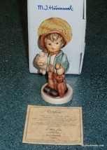 Lucky Boy LIMITED EDITION 125th Anniversary Goebel Hummel Figurine #335/0 W Box! - $160.04