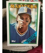 1988 Topps Donell Nixon Seattle Mariners #146 Baseball Card - $1.50