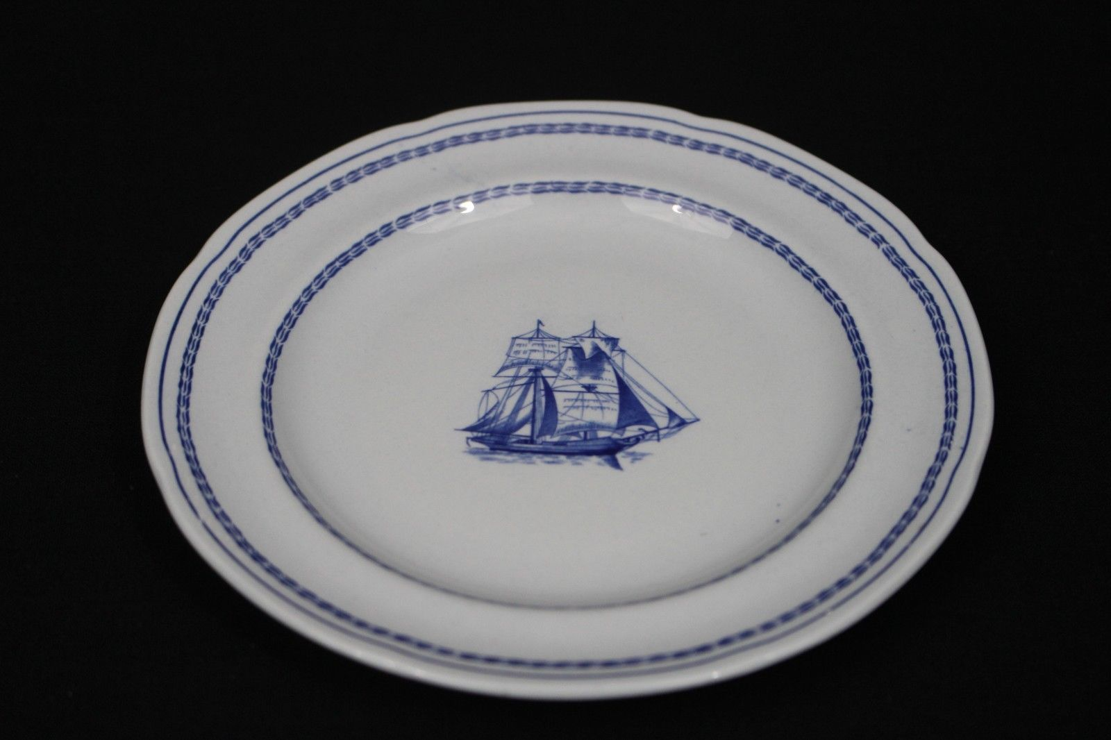 Spode Trade Winds Blue Bread and Butter Plate W146 excellent condition & Spode Trade Winds Blue Bread and Butter and 50 similar items