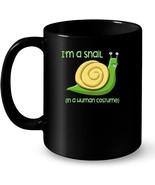 Funny Snails Graphic Snail Costume Ceramic Mug - $13.99+