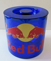 NEW Red Bull Blue Acrylic Ice Bucket with Lid and Removable Strainer - $19.80