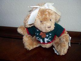 Ganz Cottage Collectibles Bear Buffy Reindeer Sweater  - $17.99