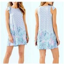 NWT Lilly Pulitzer Luella Swing Dress Multi Sea La Vie Small New In Plastic - $89.05