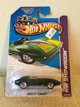 New 2012 Hot Wheels Showroom Corvette Stingray - $5.93