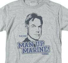NCIS TV series Leroy Jethro Gibbs Man Up Marine graphic t-shirt CBS975 image 2