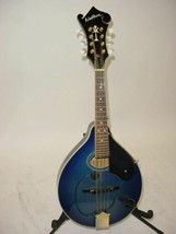 Washburn M-ISDL 4 String Mandolin with Pickup Transparent Blue - $299.99