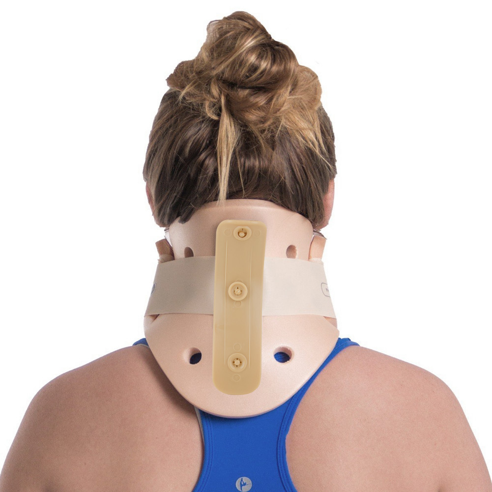 Universal Cervical Collar, Medium Water-resistant Immobilizer Neck Support Colla