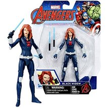 The Avengers Marvel Year 2016 Series 6 Inch Tall Action Figure - BLACK W... - $25.99