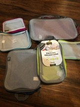NEW TRAVELON SET OF 5 LUGGAGE PACKING ORGANIZERS SMALL MEDIUM LARGE See ... - $24.73