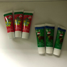 Avon Christmas Mini Hand Cream Lot Of 6 Two Themes 45ml/ 1.5oz Each - $13.33