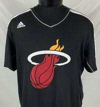 Miami Heat Jersey Dwayne Wade Large Team Adidas Shirt Men's XL NBA Baske... - $69.50