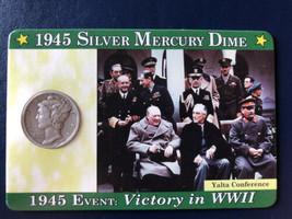 1945 Mercury Silver Dime - $4.95