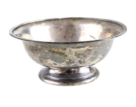 """Vintage The Essex Silver Plate Co. E8123 """"A"""" Engraved Bowl - $93.28"""