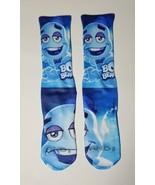 Custom Boo Berru dry Fit socks motorsports royal sport blue cereal  - $14.99