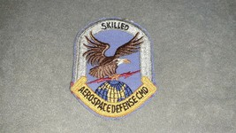 USAF Military U.S. Air Force Aerospace Defense Command Skilled Patch - $10.00