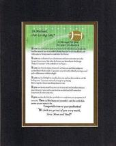 Personalized Touching and Heartfelt Poem for Graduations - A Message For You On  - $19.75