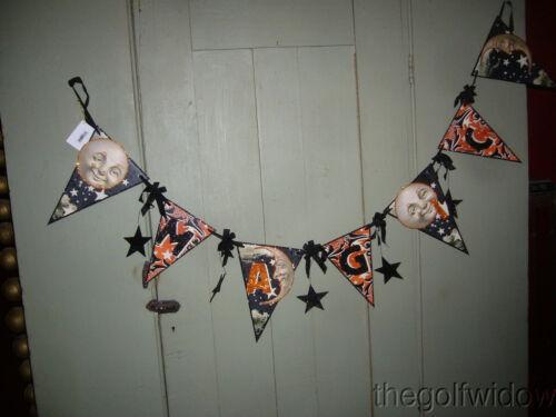 Bethany Lowe Halloween Magic Pennant Garland