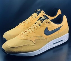 NEW Nike Air Max 1 Premium University Gold Running Shoes BV1254-700 Size 12 - $118.79