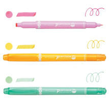 3-Color Set - PLAY COLOR Dot Double Sided Drawing Pens (GCE-311B), Tombow - $14.99
