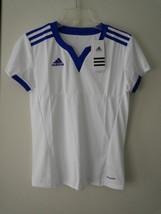 Adidas Performance Soccer Womens Climacool Tiro 15 Jersey Top Blue/White... - $9.90