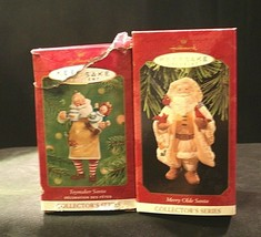 Hallmark Handcrafted Ornaments AA-191775C Collectible ( 2 pieces ) image 2