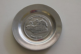 """Vintage Wilton Columbia RWP PLATE """"The Country Fare""""  Hingham, Mass. - $15.84"""