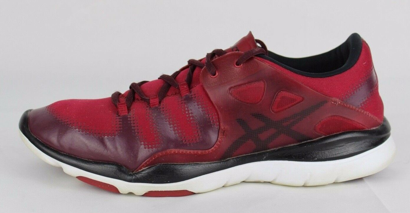 Asics Gel Passform Vida Damen Schuhe Rot Laufen Training Sneakers Schnürsenkel image 7