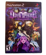 Odin Sphere New Sealed Black Label Playstation 2 Game * Atlus - $39.88