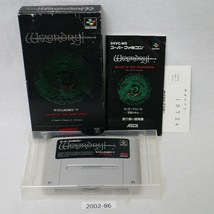 Nintendo Snes Wizardry V 5 con Scatola Funzionante Sfc Giochi 2002-86 - $19.14