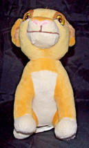 Simba Disney Baby Plush Lovey 10in The Lion King Cub Stuffed Animal Soft Rare - $19.99