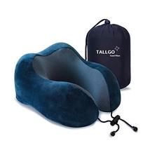 Travel Pillow, Best Memory Foam Neck Pillow Head Support Soft Pillow for... - $23.73