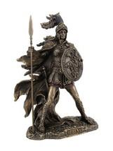 Veronese Bronzed Athena Goddess of Wisdom and War Statue - $77.77