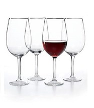 The Cellar Glassware, Set of 4 Premium Grand Cru Glasses Wine Glasses NEW - $24.30