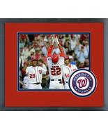 Juan Soto Celebrates HR for His First Major League Hit-11x14 Matted/Fram... - $42.95