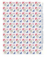 VFW National Home for Children Charity Seals 1983 84 MNH Sheet of 60 Stamps - €4,59 EUR