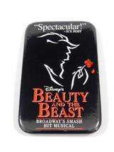 Disney's Beauty and the Beast Broadway Hit Musical Pinback RARE - £7.77 GBP