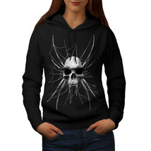 Spider Web Skeleton Skull Sweatshirt Hoody Devil Art Women Hoodie - $21.99+