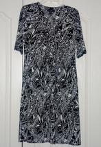 Alfani Black & White Dress size Med. - $18.00