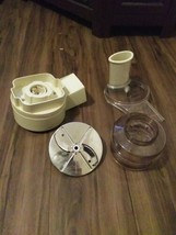 Vintage Oster Food regency kitchen center Processor Accessories - $31.80