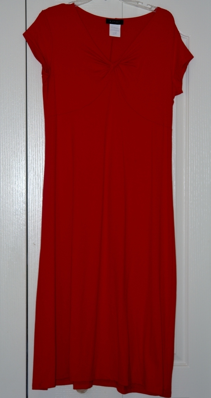"Ladies Red Dress Size Medium "" Lady in Red!"