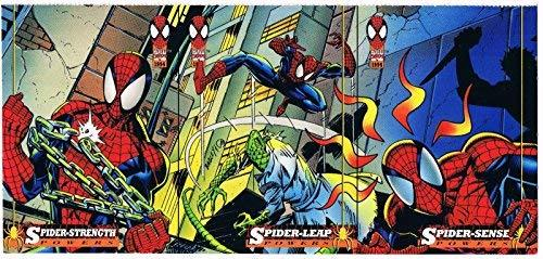 1994 Fleer Marvel Cards Amazing Spider-Man Powers Uncut 3 Trading Card Promo