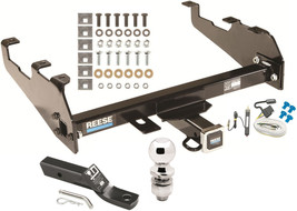 1963-1965 GMC 1000 1500 2500 SERIES COMPLETE TRAILER HITCH PACKAGE W/ WI... - $279.99