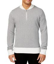 New Mens S EAN John Herringbone Half Zip Pullover Sweater Xl - $29.99