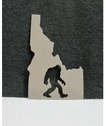 Idaho Big Foot Sasquatch Made in Idaho Steel Plate Cutout  - $19.95