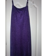 Purple Cocktail Dress New size Med - $19.00