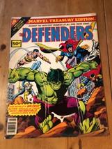 HUGE MARVEL COMICS - MARVEL TREASURY EDITION #16 (1978) FN THE DEFENDERS - $17.90